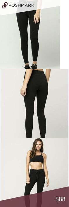 Free People Movement Future Leggings Black Free People Futura leggings. For power yoga, spin class, the Sunday hiking trail, or a full day of exhausting lounging on the couch doing literally nothing. Do what speaks to you in these ultra comfy activewear leggings. It features a comfortable elastic drawstring waist. Sleek zipper detail at the hip and exposed seaming for a modern style.  Approx inseam: 45% nylon/40% cotton/15% elastane. Machine wash. Imported.  Comes from a smoke friendly home…