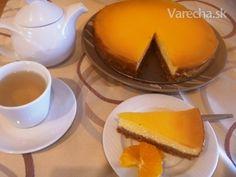 Pomarančový cheesecake (fotorecept) - Recept
