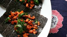 Nori Wraps with Sauteed Sweet Potatoes