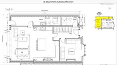 House Extension Plans, Side Extension, Kitchen Layout, Kitchen Design, 1930s Semi Detached House, 1930s House, House Siding, House Extensions, Open Plan Living