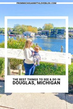 How to spend a day in Douglas, Michigan. If you're planning a trip to Michigan you need to spend at least a day along the Lake Michigan shoreline!