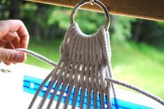 The Little Dog Blog: Step by Step DIY Hammock