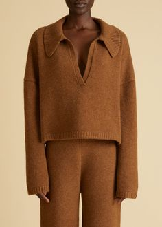 Brown Sweater, Men Sweater, Cool Outfits, Casual Outfits, Dressed To The Nines, Couture, Athleisure, Lounge Wear, Cashmere