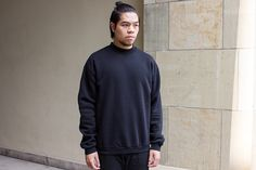 Libertine-Libertine – Ecto Crewneck (black) #Streetwear #Black #LibertineLibertine #Suppa #MRQT