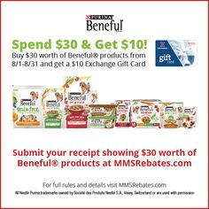 Beneful® Spend $30 g