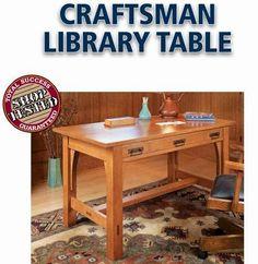 Ah! E se falando em madeira...: mesa para leitura