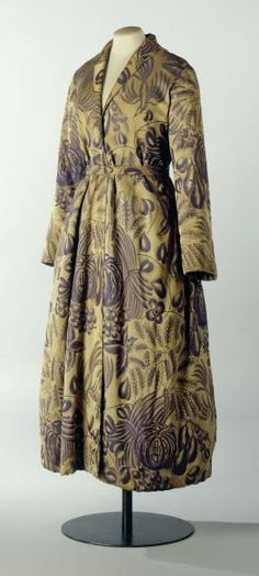 "Dress ""Les fruits"", attributed to Paul Poiret designer, French, 1925"