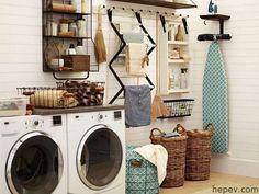 Çamaşır Odası Dekorasyonu - http://hepev.com/camasir-odasi-dekorasyon-2686/