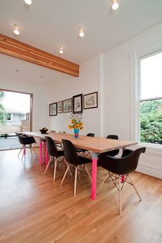family (kid-friendly) dining room  apartment therapy