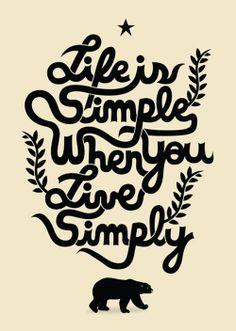 #simplelife