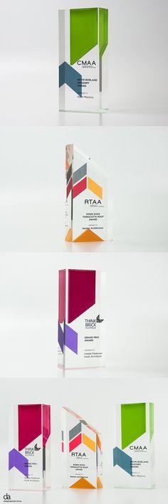 Think Brick Awards | Design Awards | #custommade #trophies #unique #moderndesign