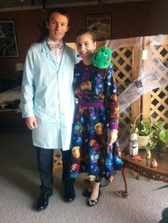 Ms. Frizzle and Bill Nye!