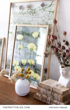 Living Room Floral Artwork | Photography and Decor by Foraged