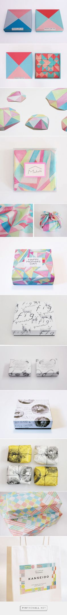 WORKS - yuka-shiramoto curated by Packaging Diva PD. A beautiful collection of packaging and wrapping. Cd Cover Design, Ad Design, Pattern Design, Print Design, Branding Design, Graphic Design, Design Research, Packaging Design Inspiration, Graphic Patterns