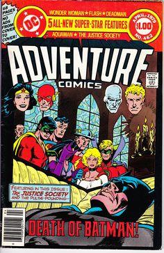Adventure Comics #462  March 1979  DC Comics  Grade F/VF