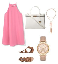 """""""Date night"""" by maddaybay on Polyvore featuring MANGO, Steve Madden, Dorothy Perkins, Michael Kors and Kendra Scott"""