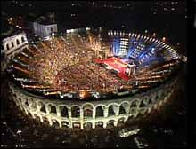 This year the Verona Opera programme celebrates the Verdi bicentenary and 100 years since Aida was first performed in Verona. The spectacular open air Arena will see Aida performed with the original set.
