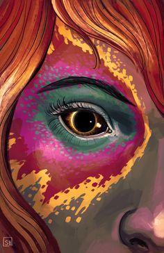 Wicked + Divine art by Stephanie Hans