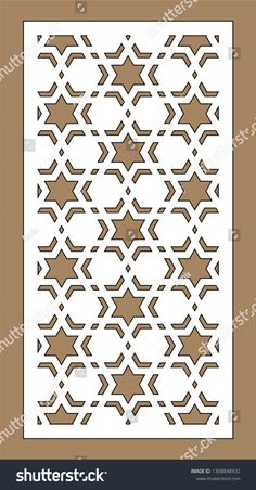 Find Arabesque Vector Panel Laser Cutting Template stock images in HD and millions of other royalty-free stock photos, illustrations and vectors in the Shutterstock collection. Stencil Decor, Wall Stencil Patterns, Wood Patterns, Stencil Painting, Stencil Designs, Laser Cut Panels, Laser Cut Metal, Laser Cutting, Glass Partition Designs