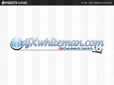 Website Logo Design of DJ X Whiteman Website Logo, Unique Logo, Branding Your Business, Brand You, Identity, Dj, Logo Design, Logos, Creative