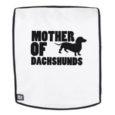 Mother of Dachshunds Love Dog Backpack - dog puppy dogs doggy pup hound love pet best friend