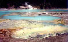 Peg's Photo Gallery - Steamy Fumaroles in Yellowstone - News - Bubblews