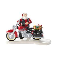 """Department 56: COLLECTING - """"Santa's New Sleigh Is A Harley®"""" - New Introductions"""
