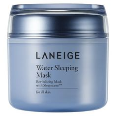 Korean skincare - Laneige Water Sleeping Mask - 80 ml E Cosmetics, Laneige Water Sleeping Mask, Korean Beauty Brands, Asian Beauty, Combination Skin Care, Skin Care Routine For 20s, Skin Routine, Overnight Mask, Cosmetic Shop