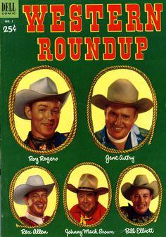 Western Roundup comic book.