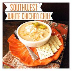 Southwest White Chicken Chili