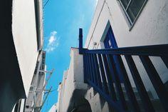 #sky #stairs #island