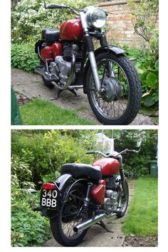 1955 Royal Enfield with 1960 meteor minor engine
