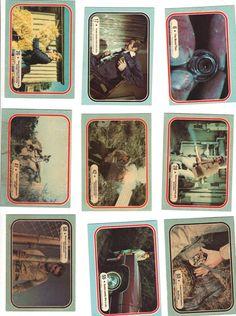 1975 -- SIX MILLION DOLLAR MAN -- 9 Different cards