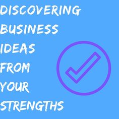 Discovering Business Ideas From Your Strengths and Skills  ||  In this article I am going to show you why your strengths are SO important, the types of strengths you can possess, and how to find them. From there, we will dive into how you can think of business ideas from your strengths, along with examples from some famous…