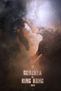 New Movies Online 2020 Movies, Hd Movies, Movies Online, Cult Movies, King Kong Vs Godzilla, Godzilla 2, Godzilla Raids Again, Strongest Animal, Kong Movie