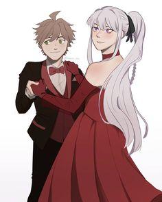 Danganronpa Monokuma, Much Wow, Danganronpa Trigger Happy Havoc, Weird Gif, Bad Memes, Prom Queens, Popular Anime, Couples Images, Make Me Smile