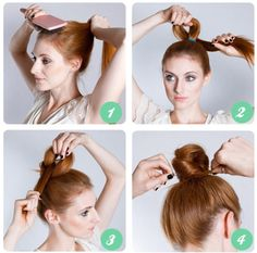 Practical Ballerina Knob (Knob Hill) Models - http://www.wondroushairstyles.com/practical-ballerina-knob-knob-hill-models.html
