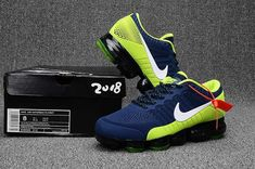new arrival 1bba3 f8216 Nike Air Max 2018 Top Running Shoes Navy Blue Green For Men Nike Air Max  Mens