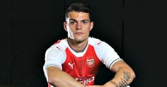 """Granit Xhaka has confessed that joining Arsenal is a """"dream move"""" after becoming the club's third most expensive signing of all time. #Arsenal"""