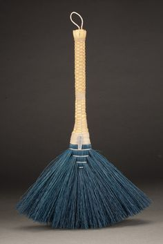 "Blue Ridge Broom - Berea College Crafts.  Beautiful brooms and whisks made in the traditional Appalachian style by students at Berea College in Kentucky.  Their motto is ""God has made of one blood all peoples of the earth."""