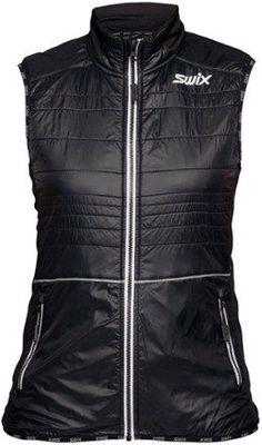 10cbf6a2af Swix Women s Menali Quilted Vest Black XL Quilted Vest