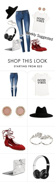 """""""Weekly Suggested"""" by goldengryffindorgal ❤ liked on Polyvore featuring WithChic, Tommy Hilfiger, Michael Kors, Yves Saint Laurent, Diane Von Furstenberg, Apples & Figs and Beats by Dr. Dre"""