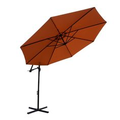 Cantilever Outdoor Umbrella 3 metre BRONZE / TERRACOTTA  Reference: ZX 010304-00212