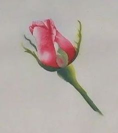 Watercolor Demo In the following series of 5 videos, Nancy Couick demonstrates painting a rosebud with detailed instructions for the be...