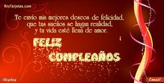 Feliz Cumpleaños! Tarjetas de feliz cumpleaños, felicitaciones de cumpleaños, feliz cumple años,  http://www.riotarjetas.com/tarjetas_de_cumpleanos.html cumpleaños feliz gratis, postales de feliz cumpleaños RioTarjetas.com