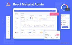 React Material Admin Full - React Material-UI Admin & Dashboard Template built with React @ Flatlogic Dashboard App, Dashboard Template, Dashboard Design, App Ui Design, Ui Framework, Ui Components, Admin Panel, Material Design, Data Visualization