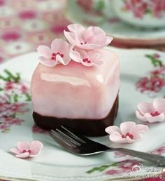 Blossom on a plate