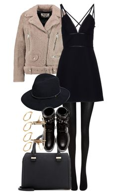 """""""Untitled #3566"""" by plainly-marie ❤ liked on Polyvore featuring Wolford, Acne Studios, Prada, rag & bone, Victoria Beckham, Yves Saint Laurent, ASOS, women's clothing, women's fashion and women"""