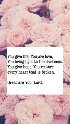 Lyrics to Great Are You Lord - All Sons & Daughters.