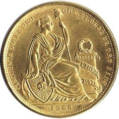 Moneda de oro 50 soles Peru 1965 Gold And Silver Coins, Old Money, Gold Bullion, Nice Picture, Old And New, Cool Pictures, Stamp, Adventure, Design